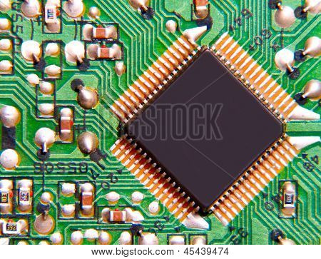 Electronic Microchip.