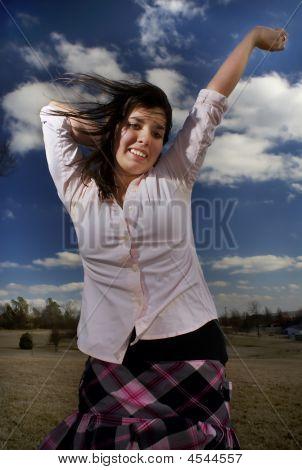 Exuberant Girl