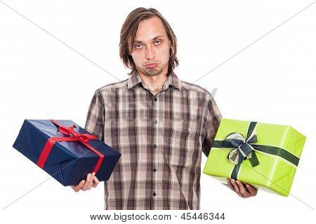 Indecisive Man With Two Gifts