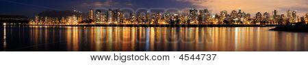 Cityscape, Vancouver, Night