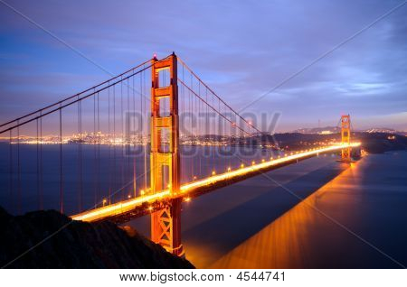 Golden Gate Bridge From