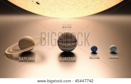 The Sun The Gas Planets
