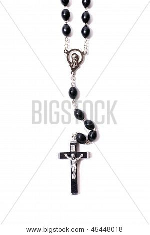 Catholic Rosary With A Crucifix