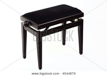 Black Piano Stool