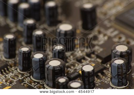 Detail Of Pc Sound Card 2
