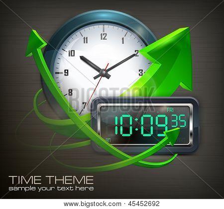 Clocks & Arrows
