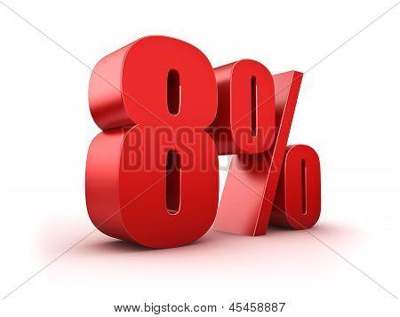 8 Por cento