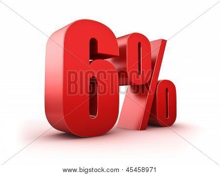 6 Por cento