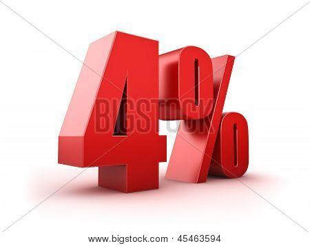 4 Por cento