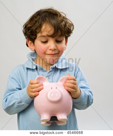 Boy Piggy Bank