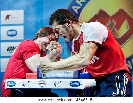 Armwrestling Championship In Moscow