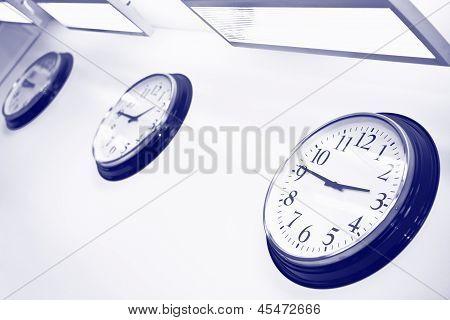 Wall Clocks In Office