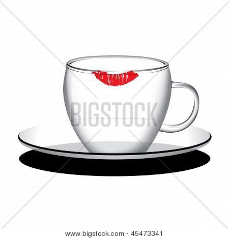 Empty Coffee, Tea Cup Vector