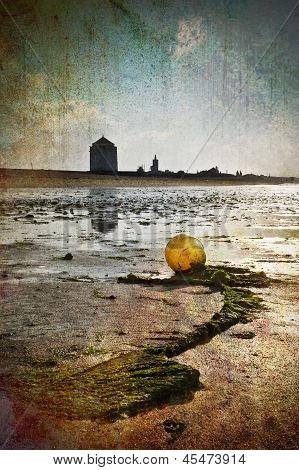 Buoy at the beach