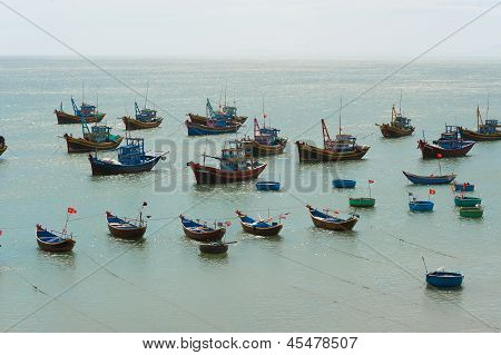 Fishing Boats, Vietnam
