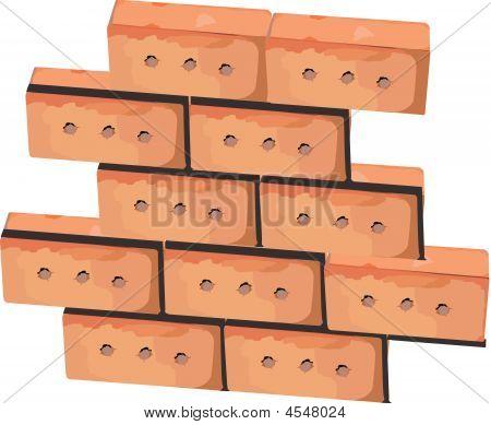 Wall From Bricks