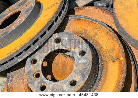 Rusty Brake Discs