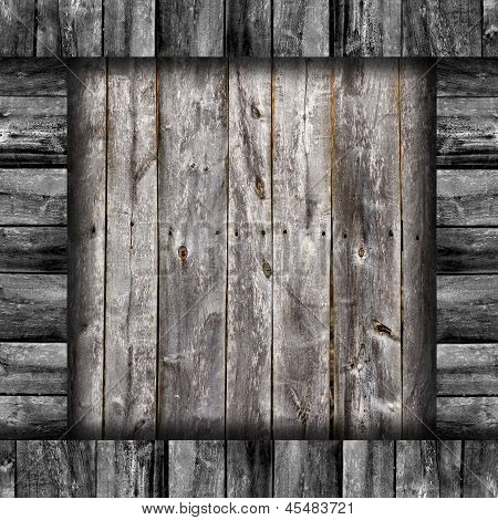 old gray fence boards wood texture