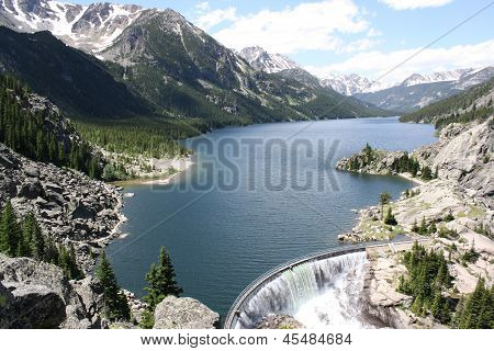 Mystic Lake Dam, Montana, USA