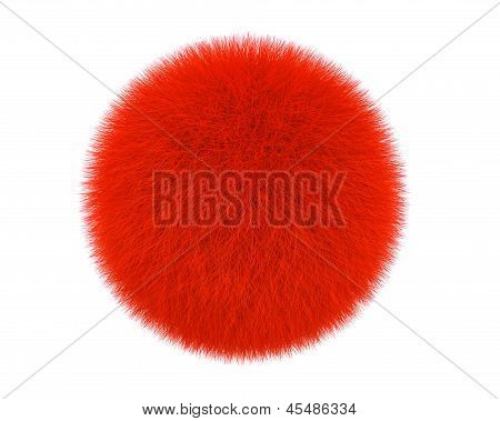 Red Fur Ball