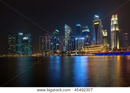 Central Area Or Central Business District In Singapore