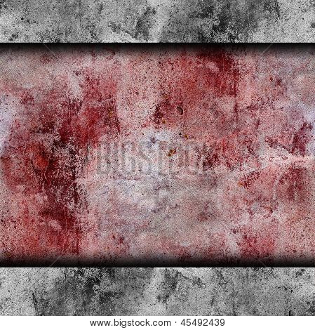 red wall blood stains plaster cracks paint background texture wa