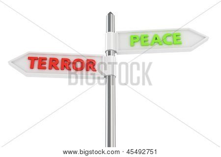 Terror Or Peace?