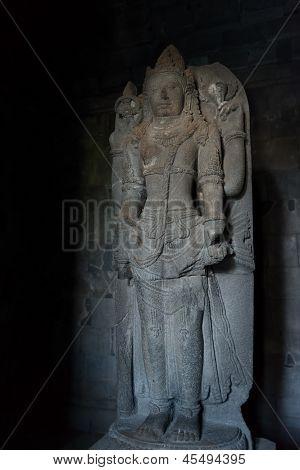 Shiva Statue In Prambanan Temple, Indonesia