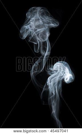Mushroom smoke