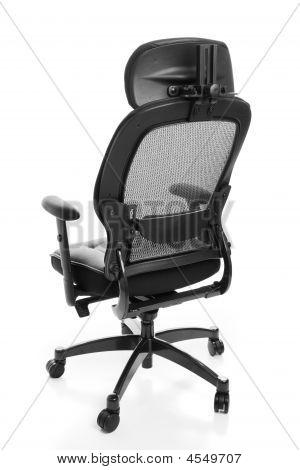 Traseira de cadeira de escritório ergonómica
