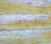 Old wooden interior - painted planks