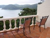 stock photo of parador  - View from balcony at Hotel Parador costa Rica - JPG