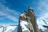 Mountain Top Station (aiguille Du Midi, France).