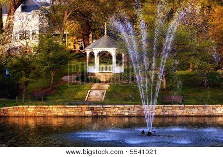Salem Virginia Duck Pond