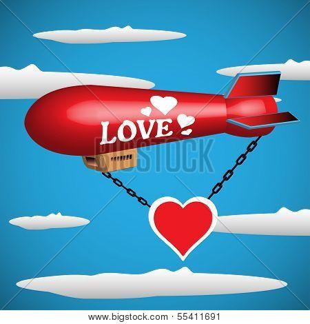 Love blimp