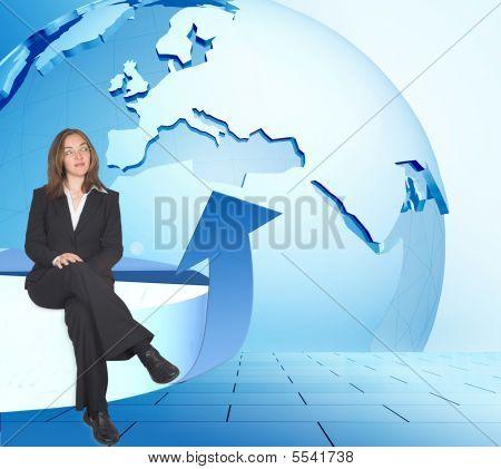 Global Business Woman