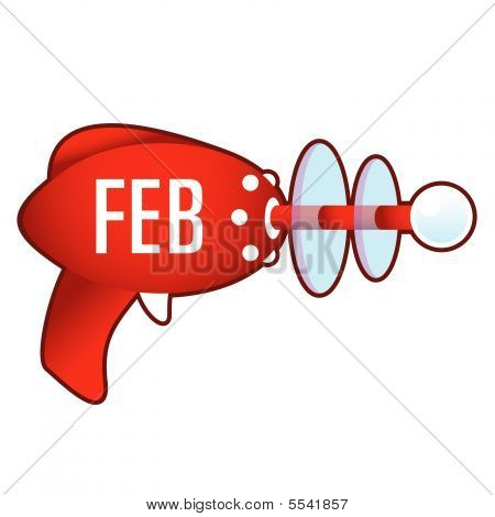 February on retro raygun