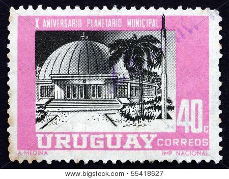 Postage Stamp Uruguay 1967 Montevideo Planetarium