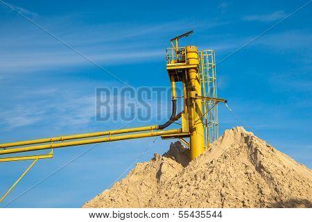 Conveyor Sand Mine