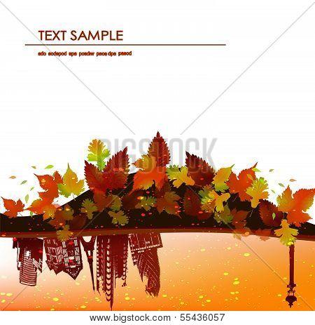 Autumn's background