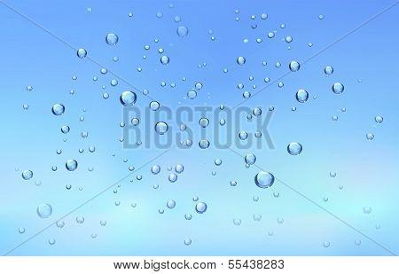 Fundo de água fresco