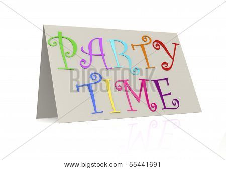 Party time with folded paper
