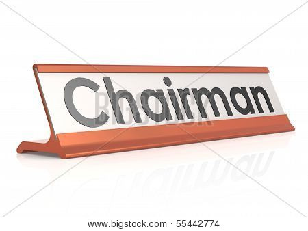 Chairman table tag