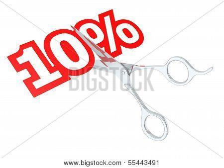 Cut 10 percent