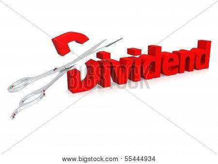 Scissor and dividend