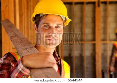 Construction Workers At The Job