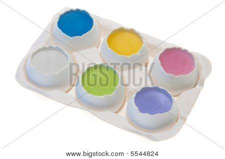 Pastel Egg Yolks