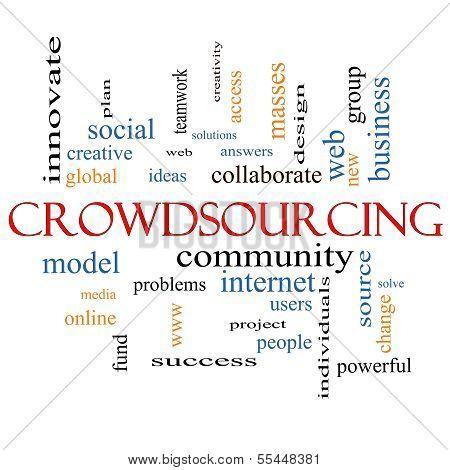 Crowdsourcing Word Cloud Concept