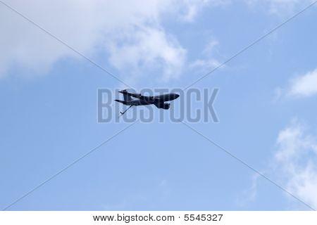 Jet Aircraft Refueling Tanker