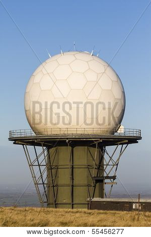 Titterstone Clee Hill, National Air Traffic Services Radar Dome